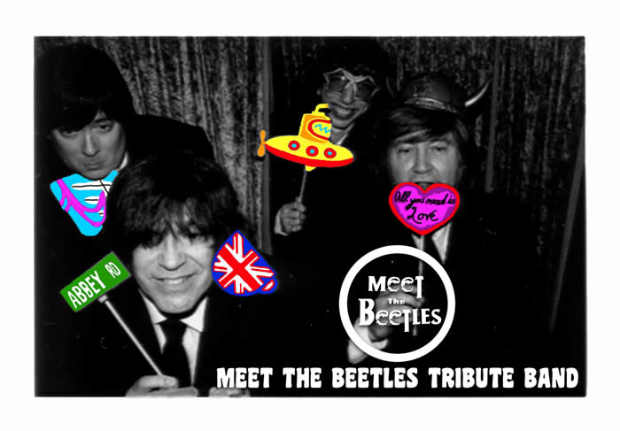 """Meet the Beetles"" Tribuite Band"